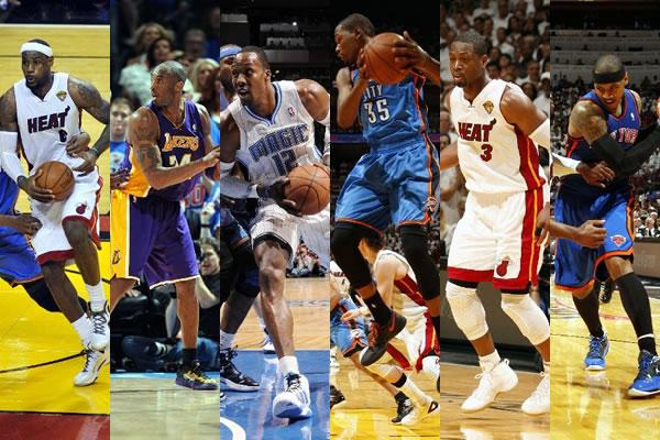 Os jogadores mais bem pagos da NBA em 2011